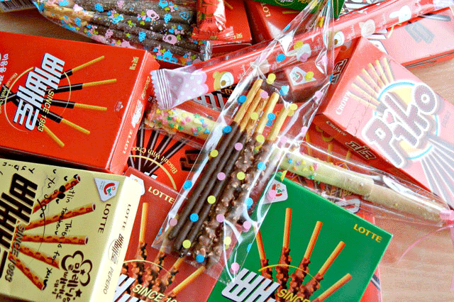 Pocky and Sticks