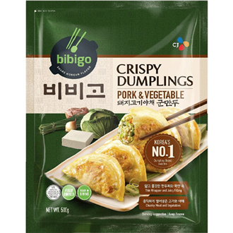 CJ BIBIGO BBQ Beef Meat Patties Korean Style (Tteokgalbi) 500g