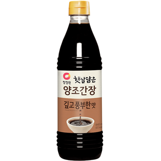 Chungjungone Naturally Aged Brewed Soy Sauce, Deep Flavour  500ml