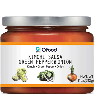 Chungjungwon O'Food Kimchi Salsa Green Pepper and Onion 326g