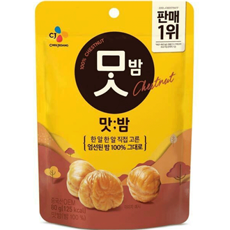 CJ Beksul Roasted Chestnut 80g
