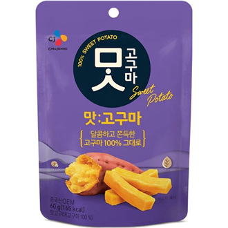 CJ Beksul Roasted Sweet Potato 60g