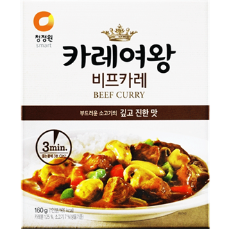 Daesang Curry Queen (Beef), 160G