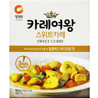 Daesang Curry Königin (Süss), 180G