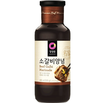 Chungjungone Kalbi Sauce (For Beef Rib), 280g