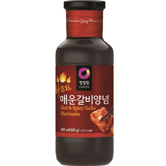 Daesang Kalbi Sauce (Hot & Spicy), 280G