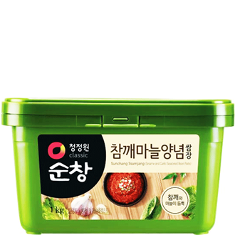 Daesang Sunchang, Seasoned Soy Bean Paste (Sesame&Galic), 200G