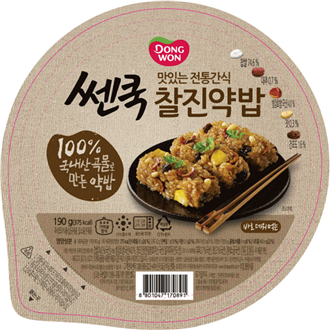 Dongwon Cooked Flavoured Glutinous Rice 210g