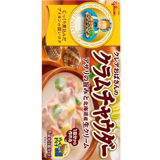 Glico Clair Obasan No Clam Chowder, 140G