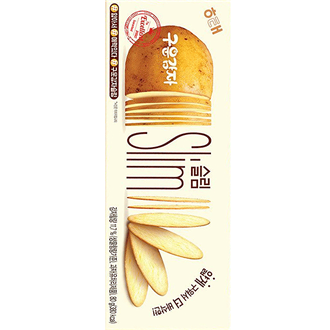 Haitai Baked Potato Snack Slim 80g