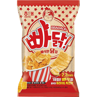 Haitai Bbadack Chicken Flavored Snack 60g