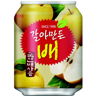 Haitai Crushed Pear Juice, 238ml