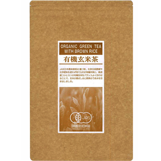 Hamasa Shoten Yuuki Genmaicha, Organic Green Tea with Roasted Rice 100g
