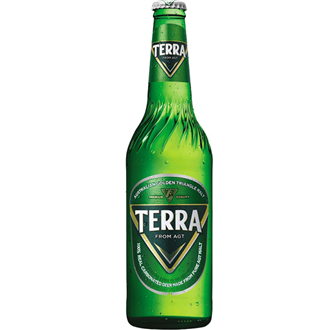 Hite Terra Beer Alc. 4.6% 500ml