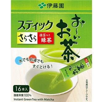 Itoen Stick Green Tea 0.8g X 16pcs