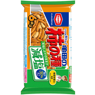 Kameda Kakinotane Genen, Reduced Salt Rice Cracker 200g