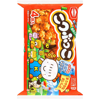 KAMEDASEIKA Kotsubukko, Fried Rice Crackers 110g
