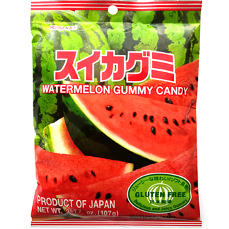 Kasugai Watermelon Gummy 107g
