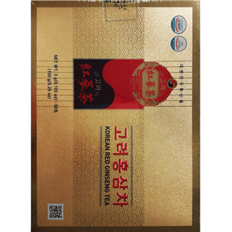 Korean Ginseng Red Ginseng Tea, granulated 50 Teabags x 3g