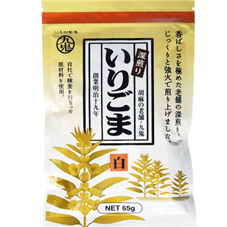 Kuki Irigoma, Roasted sesame, white, 65g