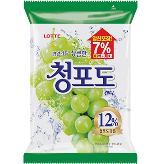 Lotte Candy Muscat White Grape 153g