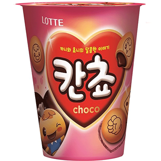 Lotte Kancho Choco Biscuit Cup 95g