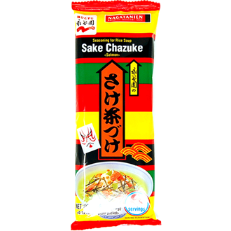 Nagatanien Sake Salmon Chazuke Rice Soup Seasoning 6×5.5g
