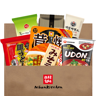 NikanKitchen Noodle Mix Box - A Bit of Everything Set