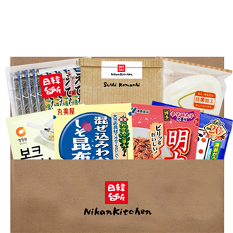 NikanKitchen Onigiri Starter Box for 4 (6-piece complete set for up to 4 Persons)