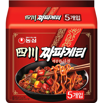 Nongshim Sachun Spicy Chapagetti Multipack 5x137g