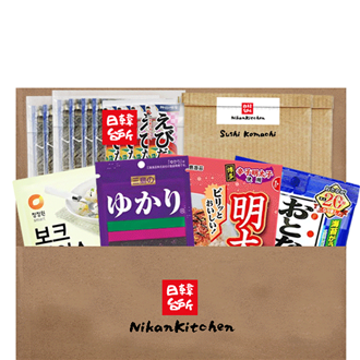 NikanKitchen Onigiri Box for 8 Persons (5-piece set for up to 8 Persons)