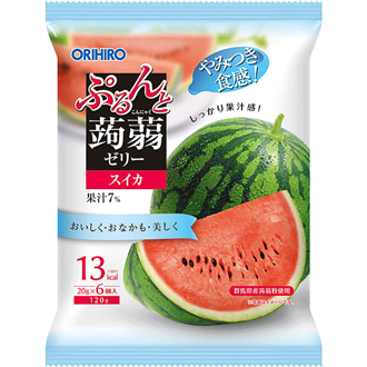 Orihiro Konnyaku Jelly Water Melon 120g