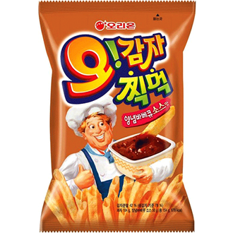 Orion Oh Gamja O Karto Potato Chips BBQ 75g