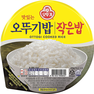 Ottogi Cooked White Rice Microwavable 210g