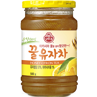 Ottogi Honey Yuja Citron Tea 500g