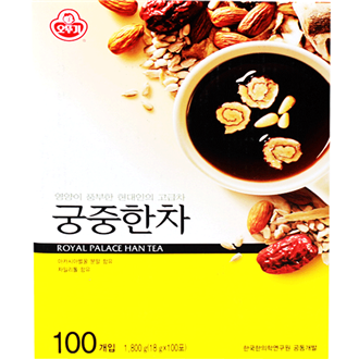Ottogi gungjunghancha, Royal Medical Herbs Tea 15 x 18g