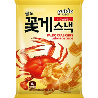 Paldo Crab Chips 50g