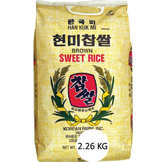 Rhee Bros., Inc. Brown Sweet Rice, 2.26Kg