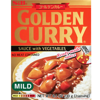 S&B Retort Golden Curry Amakuchi Mild 200g