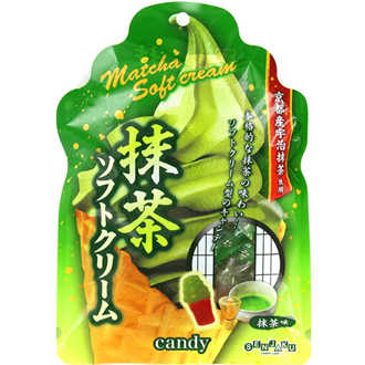 Senjakuame Soft ice cream candy Matcha 70g