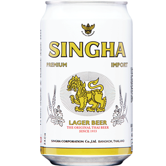 Singha Beer Can 330ml