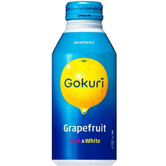 Suntory Gokuri Grape Fruits Juice 400ml