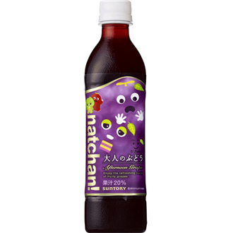 Suntory Natchan Grape 425ml