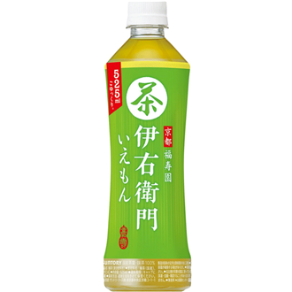 Suntory Ryokucha Iemon, 525Ml
