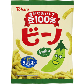 TOHATO Biino, Salt Pea Snacks 70g