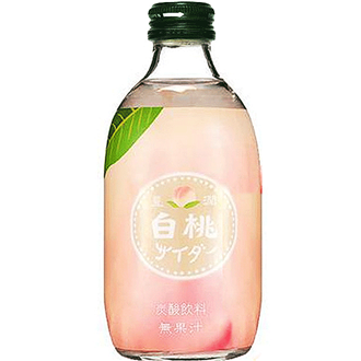 Tomomasu Peach Soda 300ml