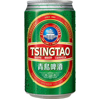 Tsingtao Beer Can 330ml
