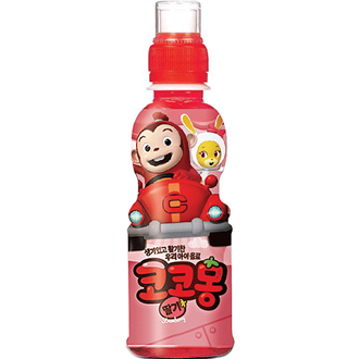 Woongjin Cocomong Yogurt Strawberry Juice 200ml