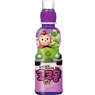 Woongjin Cocomong Yogurt Grape Juice 200ml