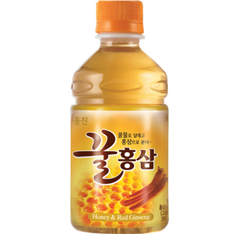 Woongjin Honey Red Ginseng Drink, 180Ml